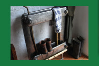series-line cast iron radiator