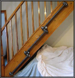 Stairs Stepped Cast Iron Radiator