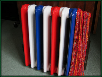 Red Cast Iron Radiator